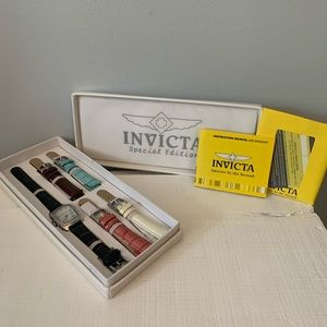 Invicta Special Edition Watch with Bands
